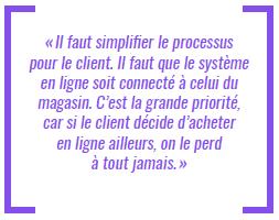Il faut simplifier le processus pour le client